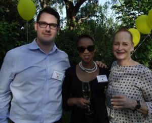 Francois Liebenberg (Grande Roche); Onwaba Maholwana (Grande Roche); Bee Witney LR