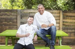 Reben Invites 2015 - Darren Badenhorst, The Restaurant at Grande Provence, & Reuben Riffel, Reuben¹s One&Only Cape Town LR