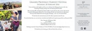 Harvest Day 2016 Flyer
