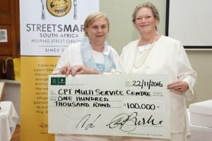 Elsa van Huyssteen (Cape Town Multi Service Centre),Caroline Bagley (StreetSmart)HR