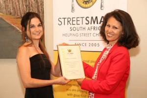 Janine van Zyl (Cold Gold Ice Cream) and Melanie Burke (StreetSmart SA Chairman)