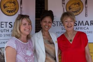 Liesel Battel (Knysna Hollow), Melanie Burke (StreetSmart SA Chairman), Sue Mills (Belvidere Manor Hotel) hr
