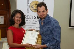 Melanie Burke (StreetSmart) and Nik Rabinowitz (Comedian)HR
