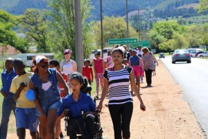 Walk of Hope in Franschhoek