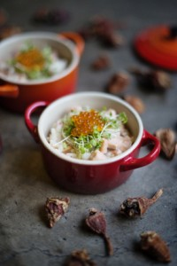 Salmon, Horseradish and Sour fig risotto LR
