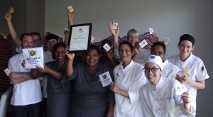 THe LQF Team with Chef Margot Janse HR