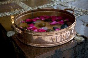 Africology copper hot stone pedicure at Steenberg Spa HR