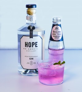 Fitch&Leedes Pink Tonic and Hope on Hopkings Gin