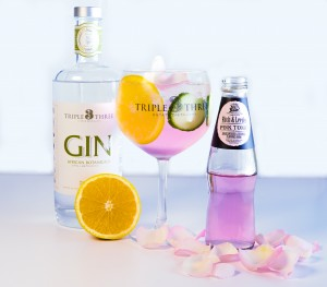 Fitch&Leedes Pink Tonic and Triple Three Gin