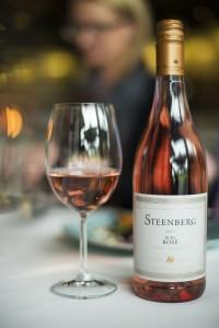 Steenberg Ruby Rose styled at the table HR