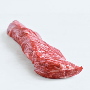 Hanger steak raw LR