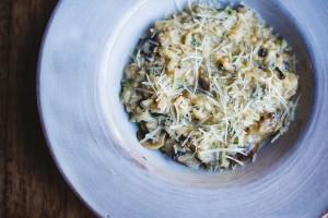 Mushroom and Pecorino risotto HR