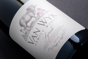 Van Wyk Family Wines Syrah styled HR