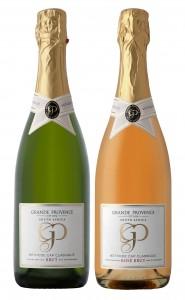 Grande Provence Brut and Rosé MCCs hr