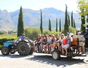 Tractor ride HR