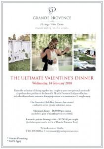 Valentine's Dinner Flyer