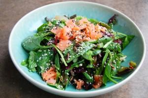 Salmon salad HR