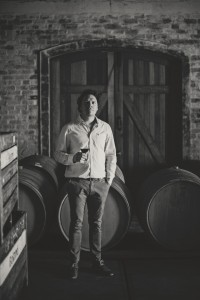 Winemaker Hagen Viljoen in the cellar 2 HR