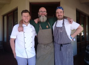 Darren Badenhorst, Chris Erasmus, Neil Jewell