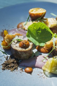 Karoo lamb - neck, sweetbread, heirloom tomato, olive, pan jus, aubergine low res (2)