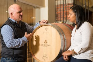 Andre Kotze (MD of Cape Cooperage Group) & Gynore Fredericks (11)