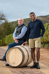 Andre Kotze (MD of Cape Cooperage Group) & Morgan Steyn (2)