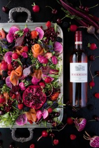 Roodeberg Rose & home cured trout 1 LR