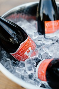 Sparkling Sauvignon Blanc in Ice Bucket