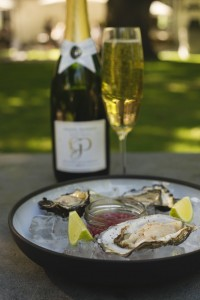 Grande Provence Brut MCC with oysters LR